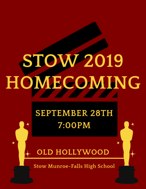 Stow Homecoming Flyer
